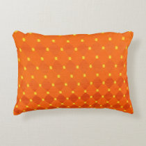 Orange & Yellow Accent Pillow
