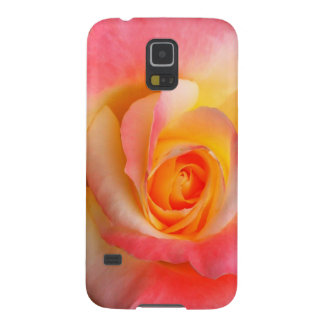 Orange, Yellow, and Pink Rose Multiple Products Galaxy S5 Cover