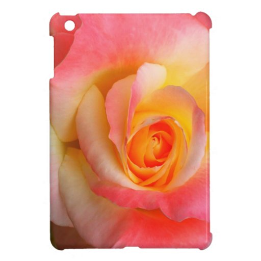 Orange, Yellow, and Pink Rose Multiple Products iPad Mini Cover