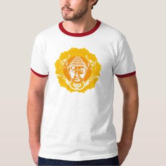 Orange & Yellow Buddha Shirt