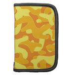Orange Yellow color Camouflage Pattern Organizer