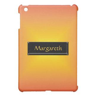 Orange yellow color harmony iPad mini cases