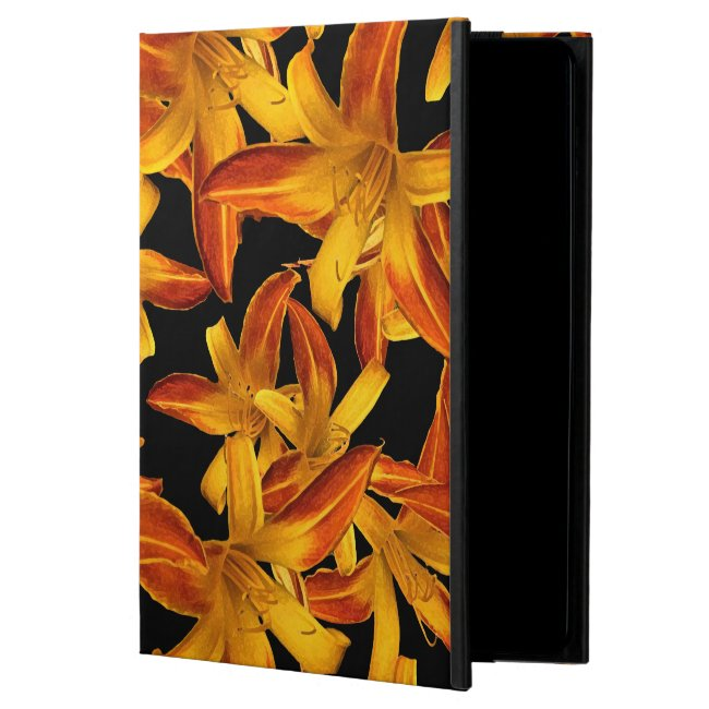 Orange Yellow Daylilies Floral iPad Air 2 Case