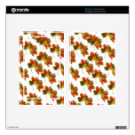 Orange & Yellow  Fall Leaves Decal For Kindle Fire