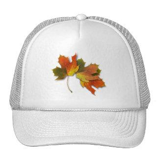 Orange Yellow Fall Leaves Trucker Hat
