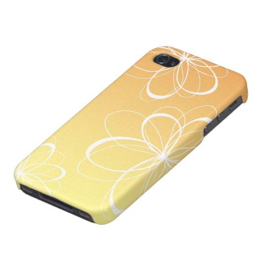 Orange/Yellow Flower iPhone Case