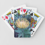 Orange/Yellow Lace Bud Blooming Deck Of Cards