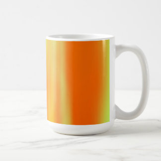 Orange & Yellow Motion Blur: Coffee Mug