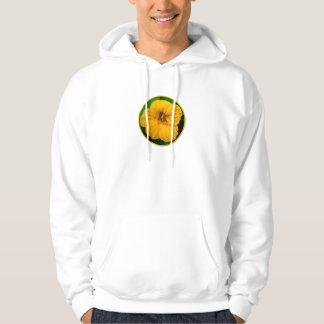 Orange-Yellow Nasturtium Hoodie
