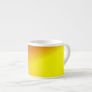 Orange Yellow Ombre Espresso Cup