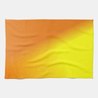 Orange Yellow Ombre Hand Towel
