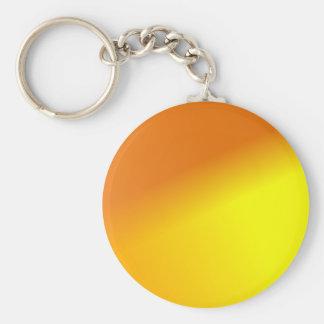 Orange Yellow Ombre Keychains