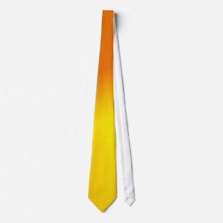 Orange Yellow Ombre Neck Tie