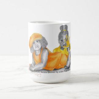 Orange Yellow Sisters Denver Mug