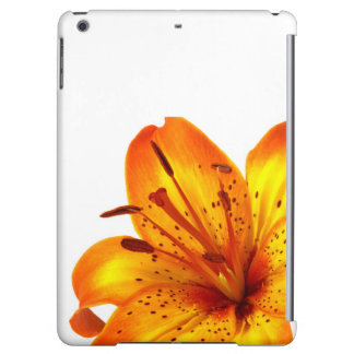 Orange Yellow Tiger Lily Cover For iPad Air
