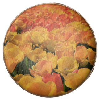 Orange yellow tulips by Thespringgarden Chocolate Covered Oreo
