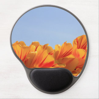 Orange yellow tulips by Thespringgarden Gel Mouse Pad