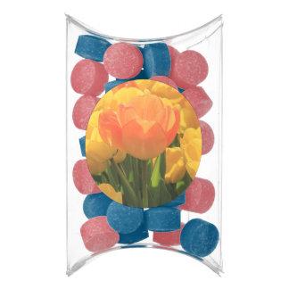 Orange yellow tulips by Thespringgarden Gum