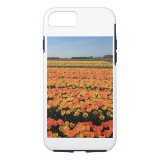 Orange yellow tulips by Thespringgarden iPhone 7 Case