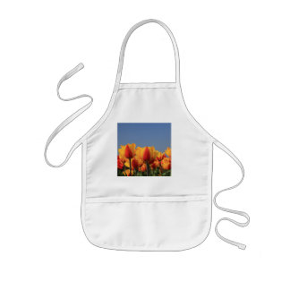 Orange yellow tulips by Thespringgarden Kids' Apron