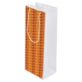 Orange yellow tulips by Thespringgarden Wine Gift Bag