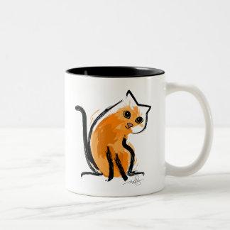 Orange You A Cat Mugs