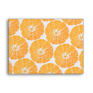 Orange you glad . . . envelope