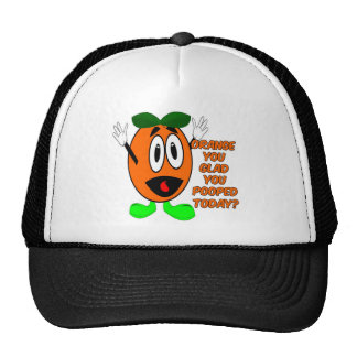 Orange You Glad You Pooped Today? Trucker Hat