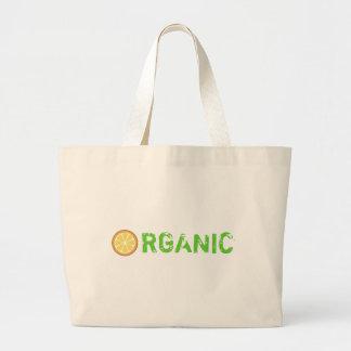 Orange You Organic Tote Bag