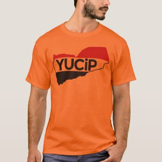 Orange YUCiP Yemeni Flag T-Shirt