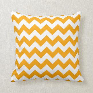 Orange Zigzag Pillows
