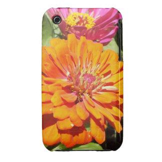 Orange Zinnia iPhone 3 Case