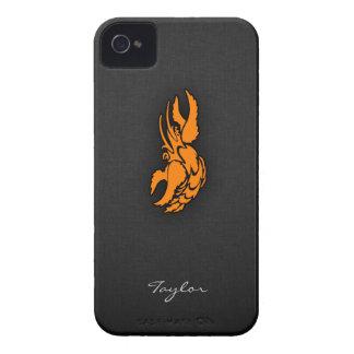 Orange Zodiac Cancer Sign iPhone 4 Case-Mate Case