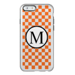 OrangeCheckerboard Incipio Feather Shine iPhone 6 Case