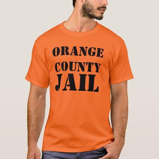 orangecounty jail t shirt zazzle