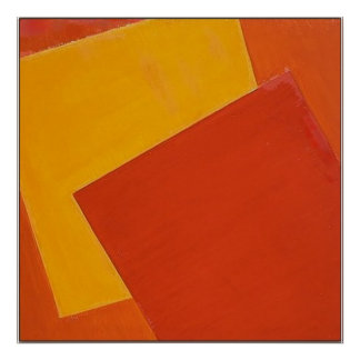 orangecube-canvas poster