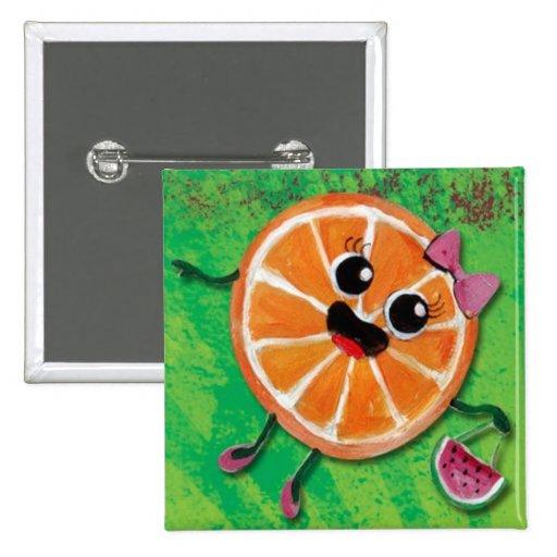 Orangee dulce pins