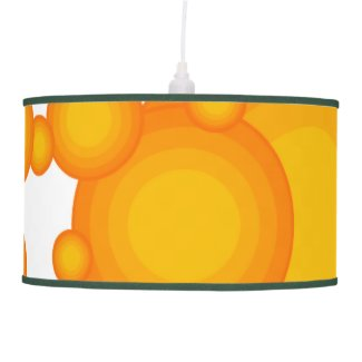 Oranger 70s styling circles like bubbles ceiling lamp
