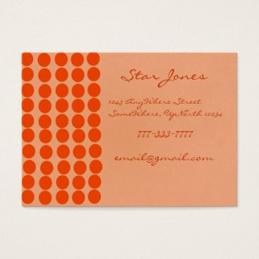 Professional Business Orangerie Business Card