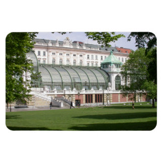 Orangery Burggarten, Vienna Austria Rectangular Photo Magnet