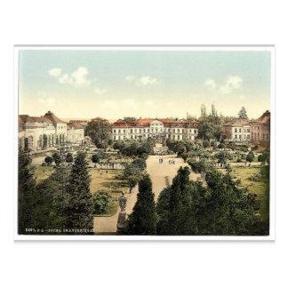 Orangery Garden, Gotha, Thuringia, Germany magnifi Postcard
