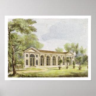 Orangery, Kew Gardens, plate 11 from 'Kew Gardens: Poster