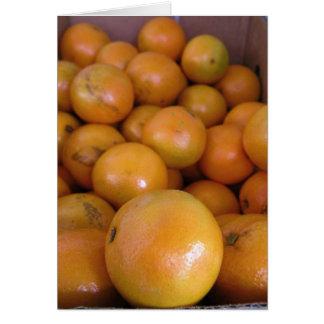 Oranges 1 card
