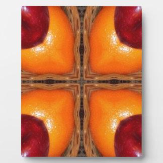 oranges and apples 1 plaque