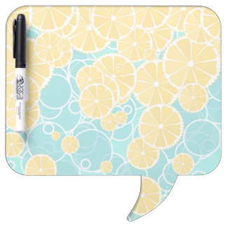Oranges and bubbles Dry-Erase board