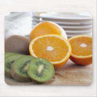 Oranges and Kiwis Mousepad