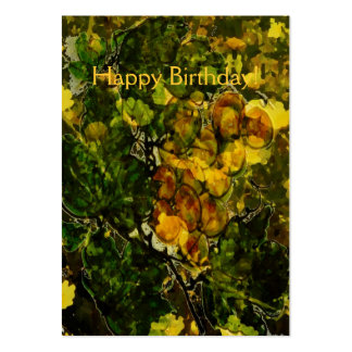 Oranges and Lemons Gift Tag Business Cards
