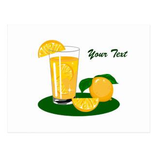 Oranges and Orange Juice Postcard