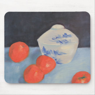 Oranges and Persimmons Mouse Pad
