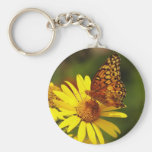 Oranges and yellows keychain